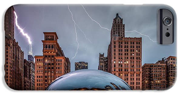 Sears Tower iPhone Cases - Untitled iPhone Case by Cory Dewald