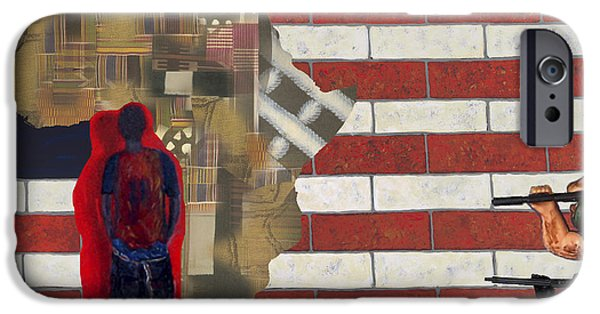 D.c. Mixed Media iPhone Cases - In-sights iPhone Case by F Geoffrey Johnson