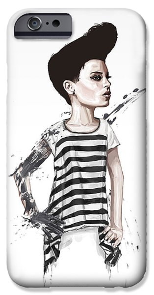Surreal Mixed Media iPhone Cases - untitled II iPhone Case by Balazs Solti