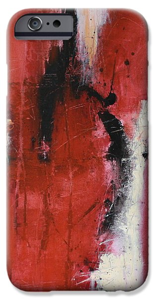 Abstract Expressionist iPhone Cases - Hope iPhone Case by Lauren Petit