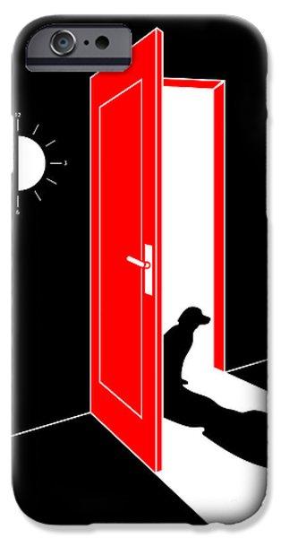 Untitled No.03 iPhone Case by Caio Caldas