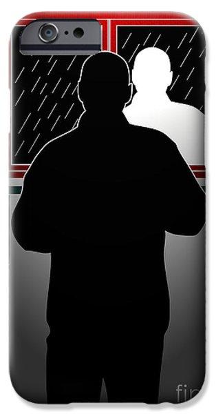 Untitled No.10 iPhone Case by Caio Caldas