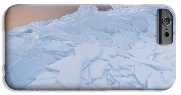 Pastel iPhone Cases - Pristine iPhone Case by Holger Spiering
