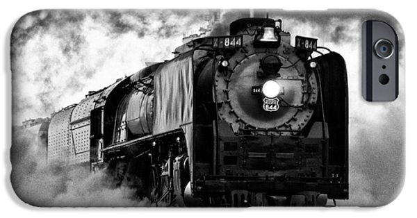 Best Sellers -  - Nebraska iPhone Cases - UP 844 Steaming It Up iPhone Case by Bill Kesler