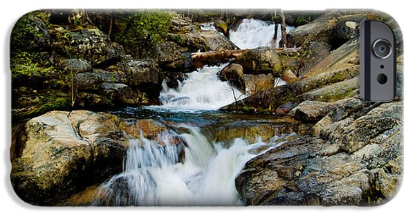 Bill Gallagher Photographs iPhone Cases - Up the Creek iPhone Case by Bill Gallagher