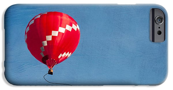 Above iPhone Cases - Up up and away iPhone Case by Juli Scalzi