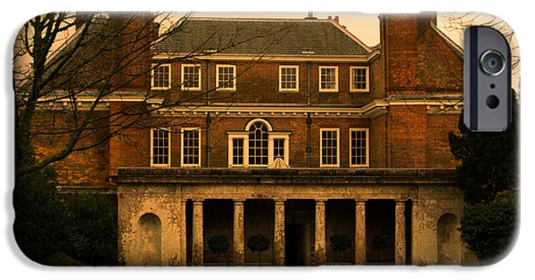 Architectur iPhone Cases - Uppark House iPhone Case by Tracey Beer