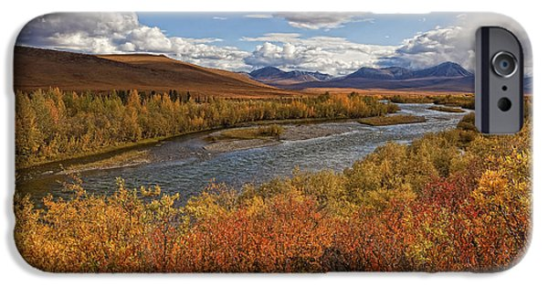 Blackstone River iPhone Cases - Upper Blackstone River Flowing North iPhone Case by Robert Postma