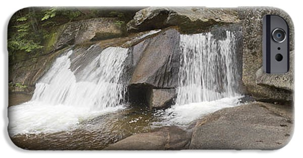 Ledge iPhone Cases - Upper Screw Auger Falls iPhone Case by Peter J Sucy