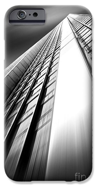 Buildings iPhone Cases - Uprising iPhone Case by Az Jackson