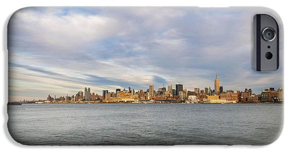 Empire State iPhone Cases - Uptown 3 iPhone Case by Joe  Gliozzo