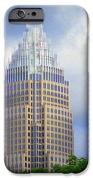 Uptown Charlotte 1 iPhone Case by Randall Weidner