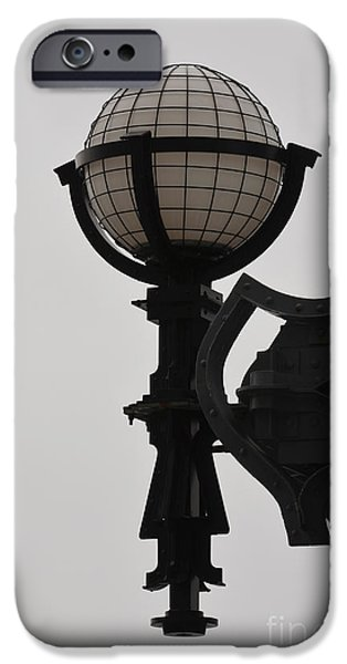 Luz iPhone Cases - Urban Architectural Light NYC iPhone Case by Anahi DeCanio