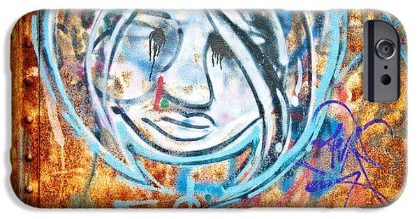 Baton Rouge iPhone Cases - Urban Art iPhone Case by Scott Pellegrin