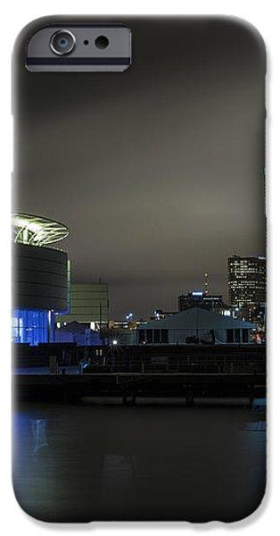 Urban Sapphire iPhone Case by CJ Schmit