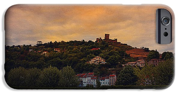 Lyon France iPhone Cases - Urban Scape - Lyon iPhone Case by Maria Angelica Maira