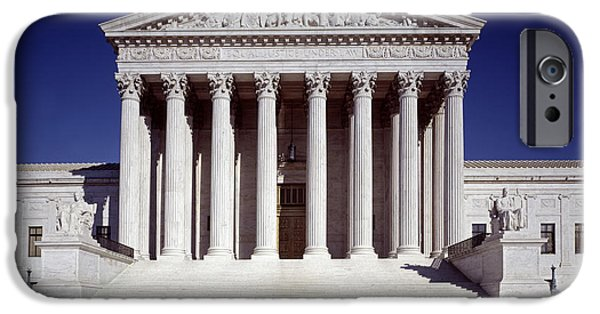 1990 iPhone Cases - U.S. SUPREME COURT, c1990 iPhone Case by Granger