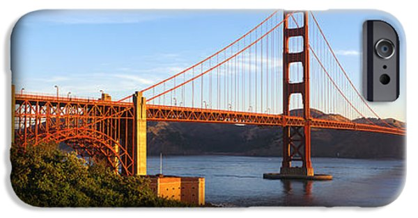 Connection iPhone Cases - Usa, California, San Francisco, Golden iPhone Case by Panoramic Images