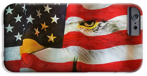 Constitution iPhone Cases - Usa iPhone Case by Darren Fisher