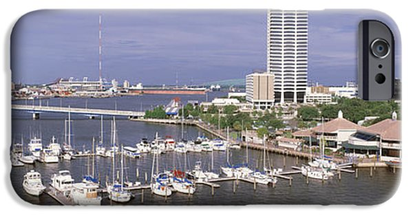 St. Johns River iPhone Cases - Usa, Florida, Jacksonville, St. Johns iPhone Case by Panoramic Images