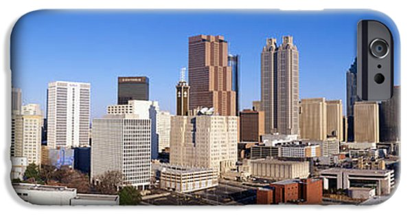 Ga iPhone Cases - Usa, Georgia, Atlanta iPhone Case by Panoramic Images