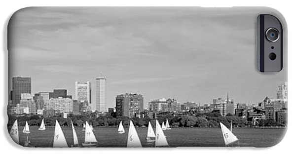 Charles River iPhone Cases - Usa, Massachusetts, Boston, Charles iPhone Case by Panoramic Images