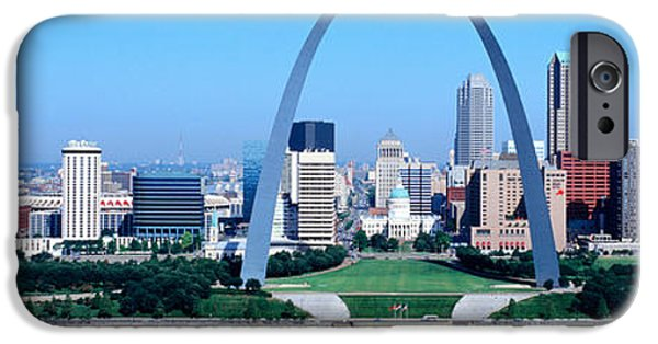 Stainless Steel iPhone Cases - Usa, Missouri, St. Louis, Gateway Arch iPhone Case by Panoramic Images