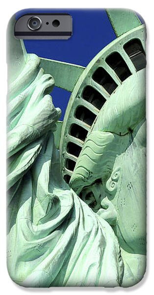 Usa, New York City, Statue Of Liberty � iPhone Case by Tips Images