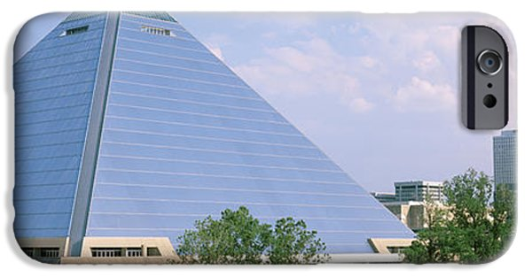 Tn iPhone Cases - Usa, Tennessee, Memphis, The Pyramid iPhone Case by Panoramic Images