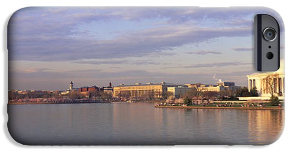 19th Century iPhone Cases - Usa, Washington Dc, Tidal Basin, Spring iPhone Case by Panoramic Images