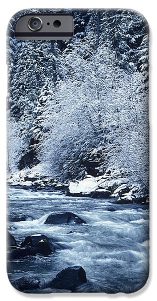 State Parks In Oregon iPhone Cases - Usa, Willamette National Forest Oregon iPhone Case by Greg Vaughn