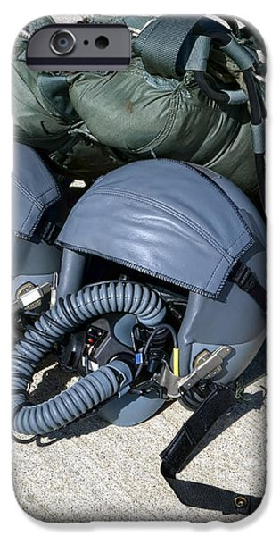 USAF Gear iPhone Case by Olivier Le Queinec