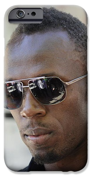 Usain Bolt - The Legend 3 iPhone Case by Andre Theophane SITCHET-KANDA