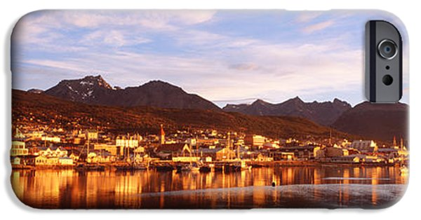 Beagles iPhone Cases - Ushuaia Tierra Del Fuego Argentina iPhone Case by Panoramic Images