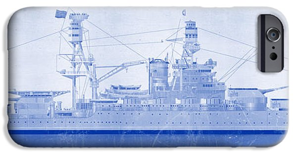 Wwi iPhone Cases - USS Arizona iPhone Case by Ryan Vosburg
