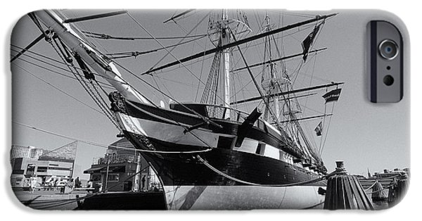 Jordan iPhone Cases - USS Constellation - Baltimore Maryland iPhone Case by Mark Jordan