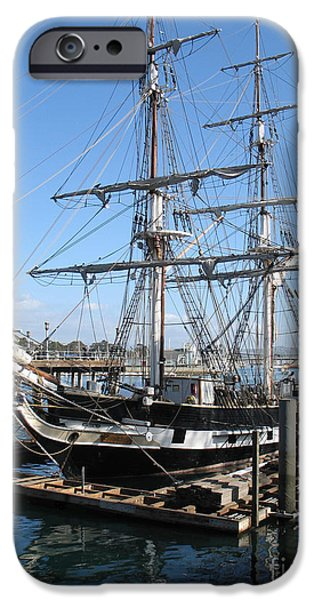 Boston Ma iPhone Cases - USS Constitution - Charlestown Massachusetts iPhone Case by S Mykel