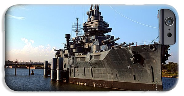 World War One iPhone Cases - USS Texas iPhone Case by Joshua House