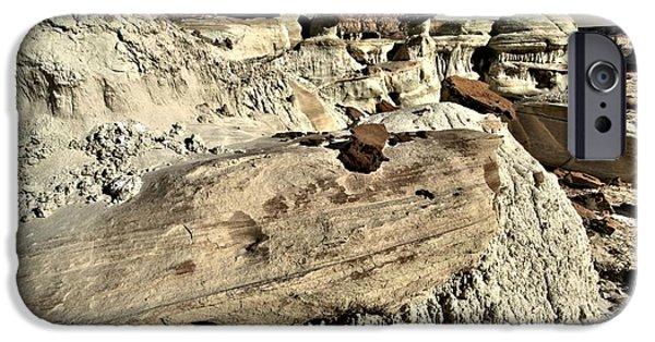 Wahweap iPhone Cases - Utah Erosion iPhone Case by Adam Jewell