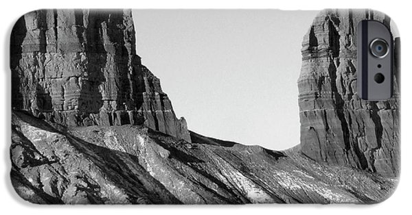 Park Scene Digital Art iPhone Cases - Utah Outback 21 iPhone Case by Mike McGlothlen