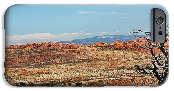 River View iPhone Cases - Utah Red Rocks iPhone Case by Carol Mellema