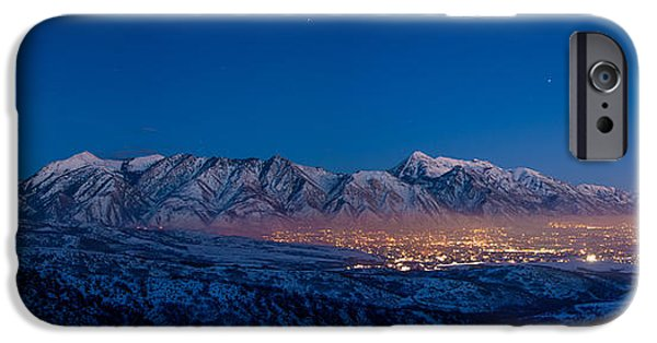 Range iPhone Cases - Utah Valley iPhone Case by Chad Dutson