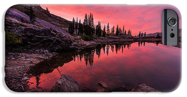 Pines iPhone Cases - Utahs Cecret iPhone Case by Chad Dutson