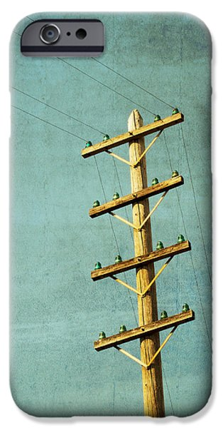 Power Photographs iPhone Cases - Utilitarian iPhone Case by Melanie Alexandra Price