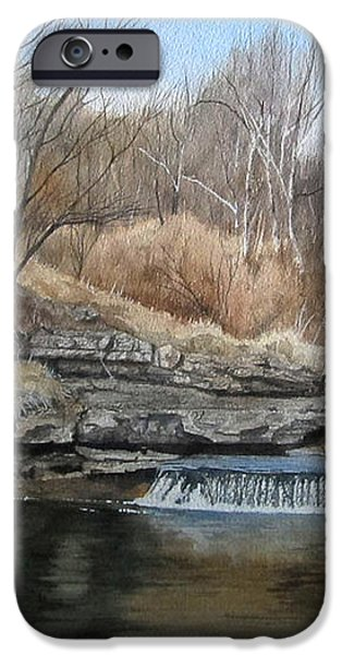 V-Highway Creek iPhone Case by Denny Dowdy