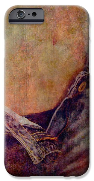 V Jeans iPhone Case by Loriental Photography