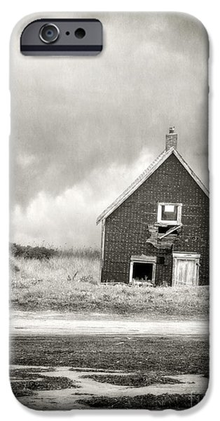 Cabin Window iPhone Cases - Vacation Rental iPhone Case by Edward Fielding