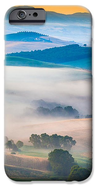 Val d'Orcia Enchantment iPhone Case by Inge Johnsson