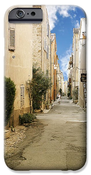 Valbonne - History and charm  iPhone Case by Christine Till