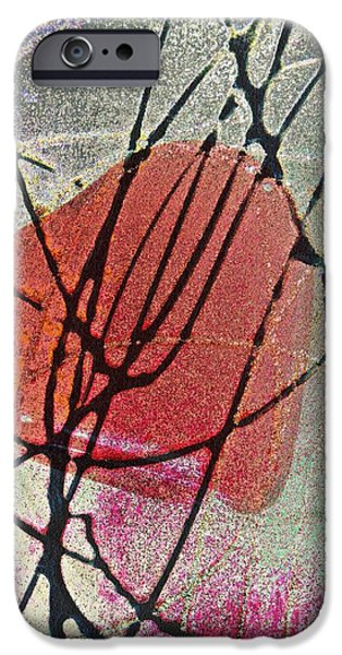 Business Digital Art iPhone Cases - Valentine iPhone Case by Sarah Loft